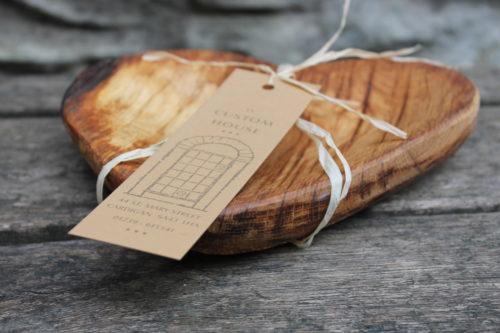 Crafted Oak Heart